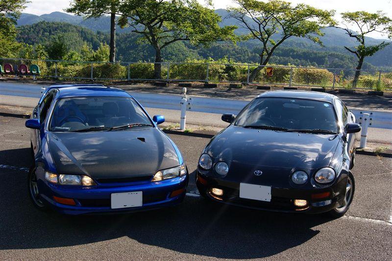 Toyota Curren T20 JDM japońskie sportowe coupe 3S-GE 日本車