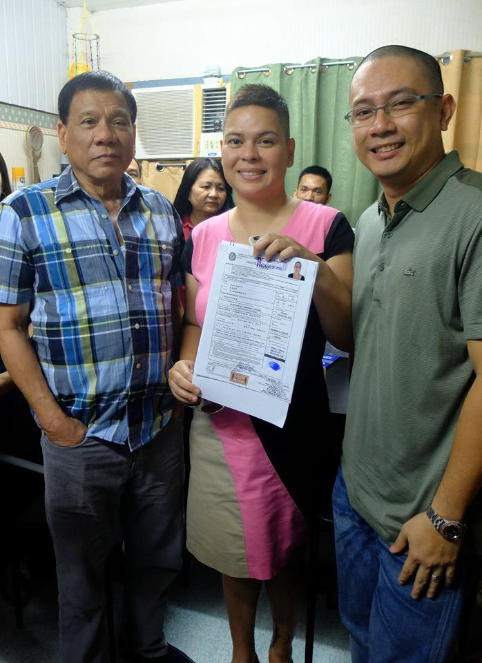 Inday Sara replaced Rodrigo Duterte for Davao City mayoral election