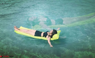 Television actress Aashka Goradia in Bikini on a trip to the Andaman islands ~ Exclusive 005