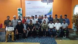 Jalin Silaturahmi, PT lnalum Buka Puasa Bersama Dengan Wartawan