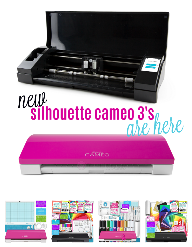 pink cameo 3, cameo pink, new silhouette cameo machine