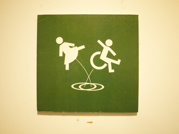 20+ Of The Most Creative Bathroom Signs Ever - Restroom Sign At Rafla, Helsinki