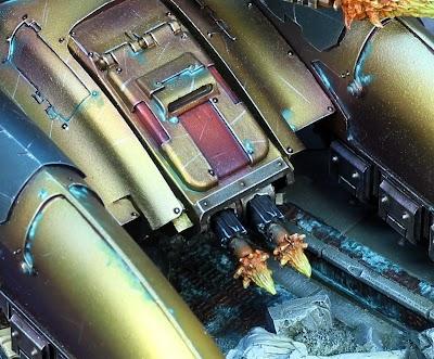 [Custodes] Caladius grav-tank.
