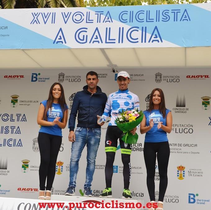 Entrevistamos a Elías Tello - Ganador del maillot de la montaña en la Volta a Galicia
