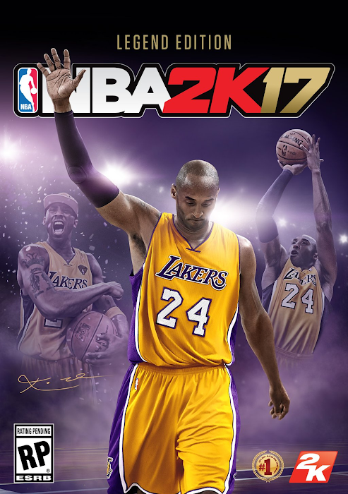 NBA 2K17 Legend Edition Cover Kobe Bryant