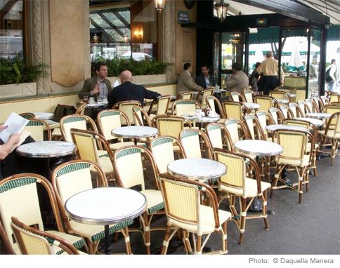 High Street Market French Rattan Bistro Chair