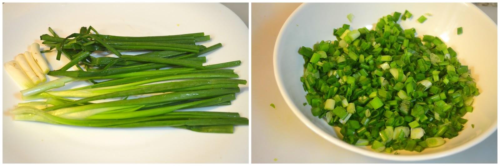 Spring Onion Paratha / Spring Onion Paratha Recipe / Step ...