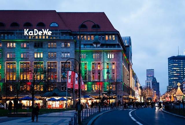Loja KaDeWe na Avenida Kurfürstendamm