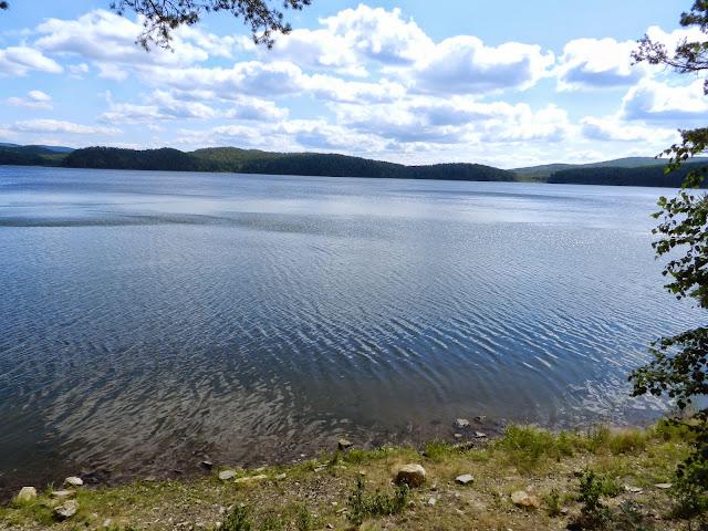 Рябь на воде озера Аракуль