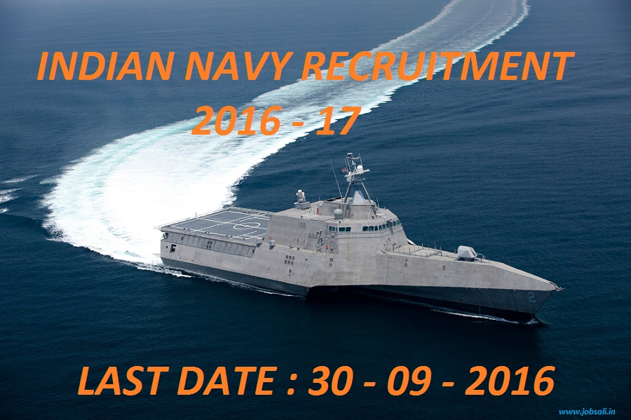 Jobs in Indian Navy, Government Jobs,Indian Army Recruitment