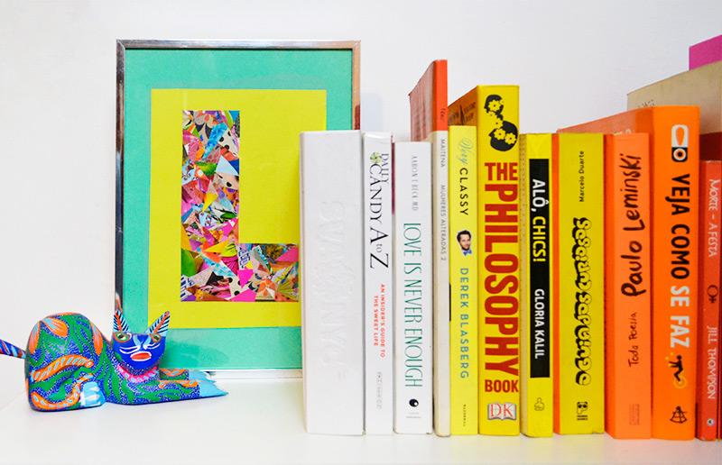 Tutorial rápido: um pôster de letra pra dar um UP na sua casa :-) | dcoracao.com