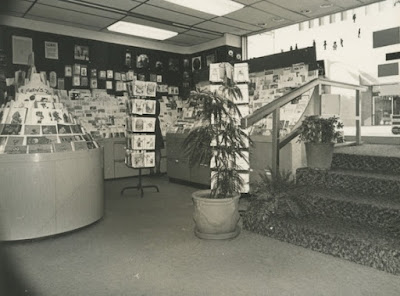 Card department of Logos of Westwood about 1975