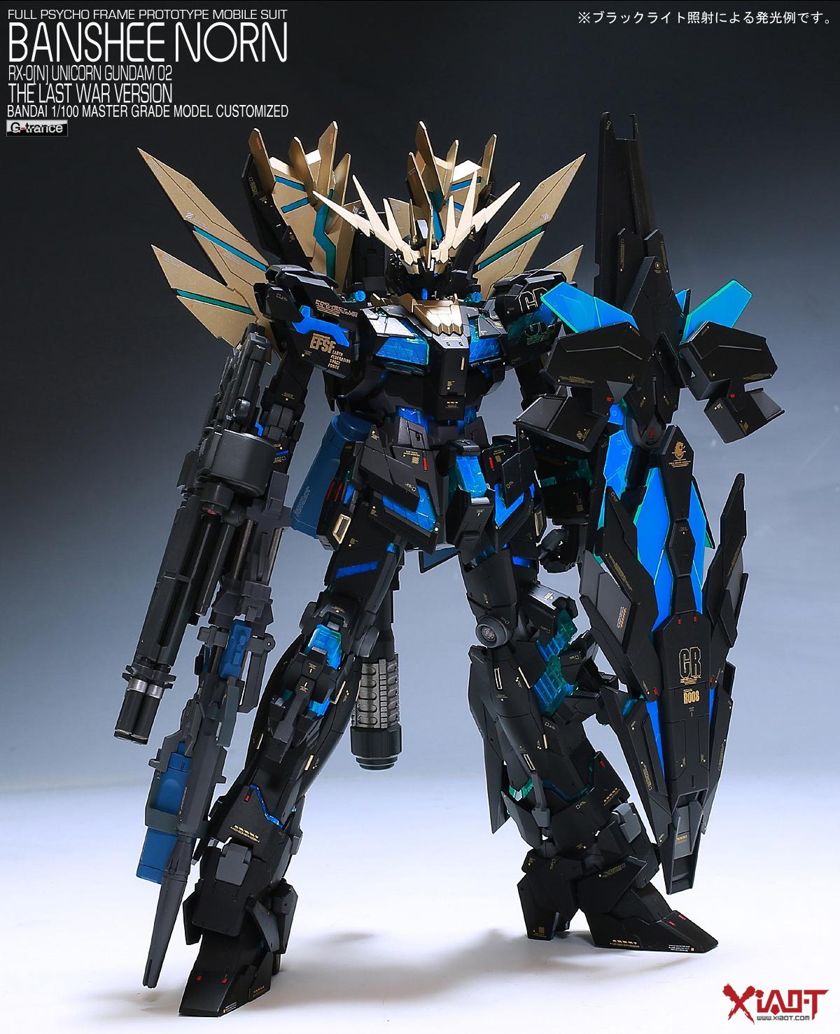 Custom Build Mg 1 100 Banshee Norn Detailed Gundam Kits