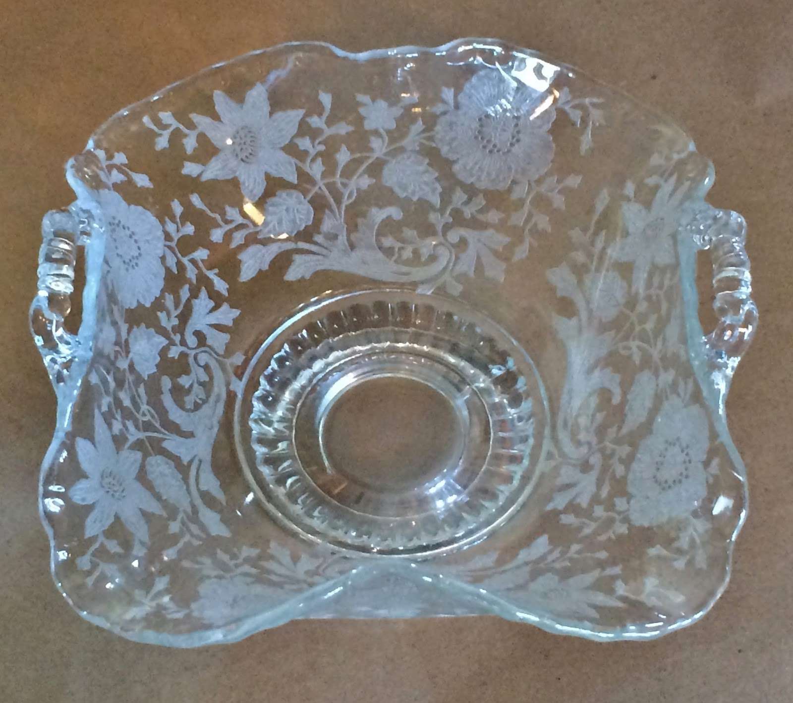 Tuesday's Take on an Antique Treasure: Elegant Glass