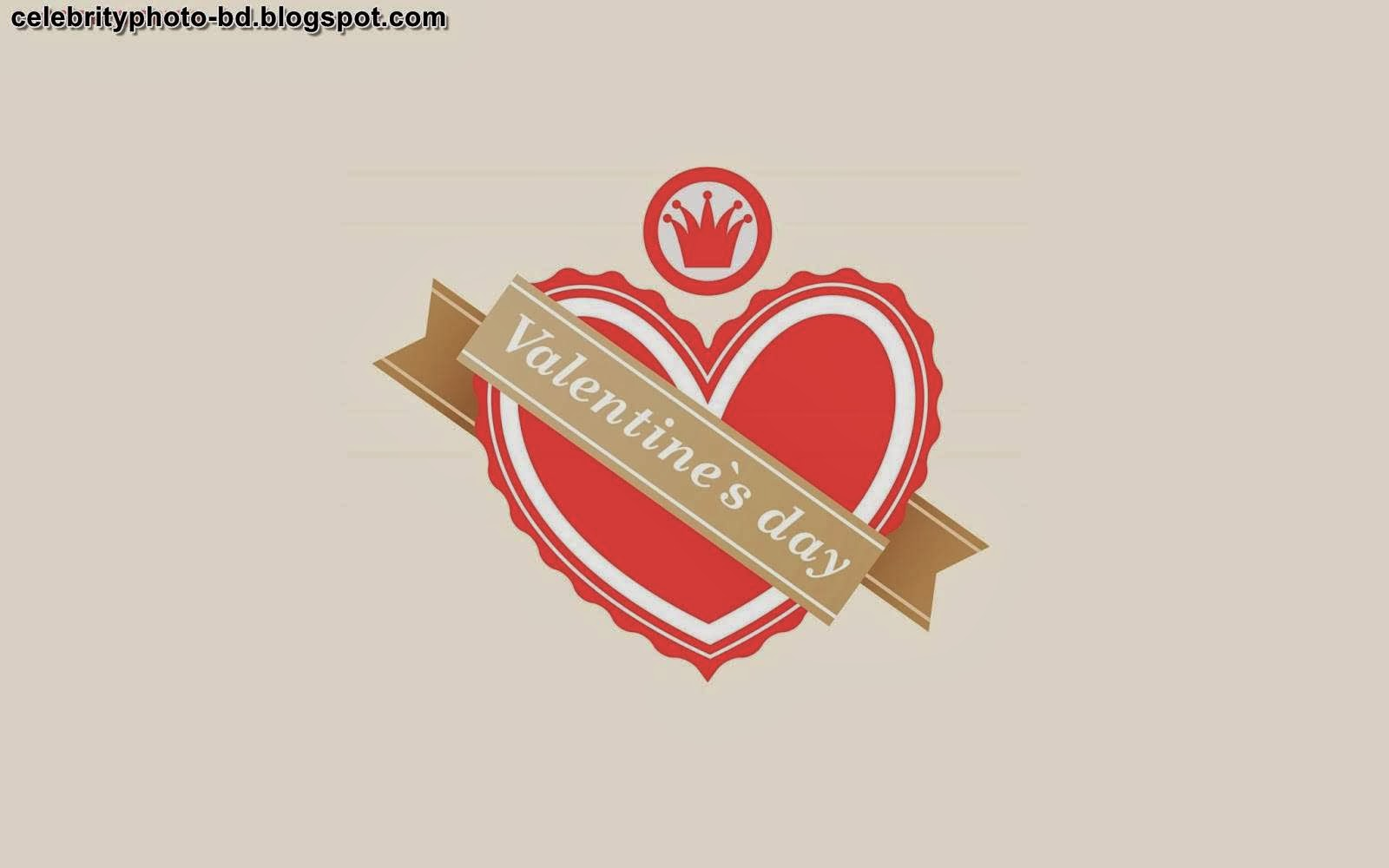 Valentines Day Latest Lovely Hearts HD Wallpapers and Wishes Image Cards 2014