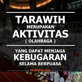 gambar kata kata shalat tarawih