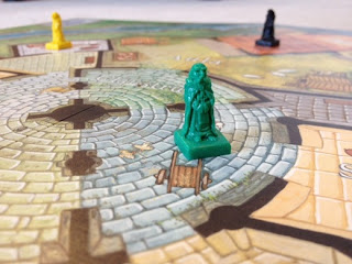Mystery of the Abbey board game suspects