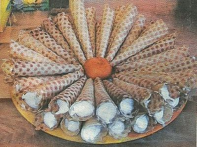 Какие нужны продукты и как приготовить вафельные трубочки
