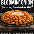 FREE Bloomin' Onion at Outback September 22, 2015