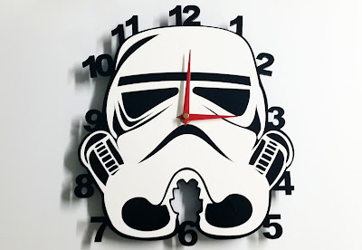 Reloj de pared Stormtrooper