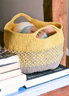PUNTXET Taller de crochet para tejer prendas de verano Frank Basket
