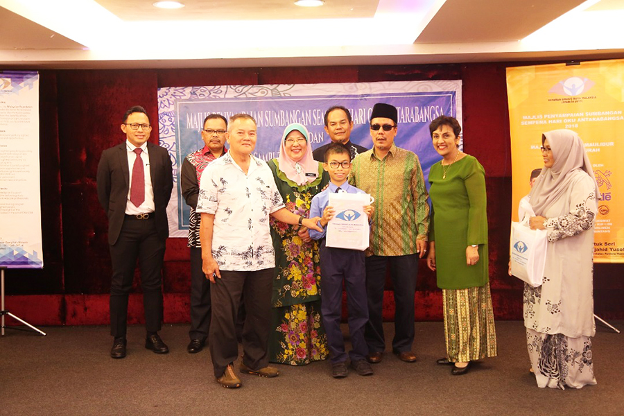 Nestlé Malaysia, Malaysian Foundation for the Blind, Braille reading,