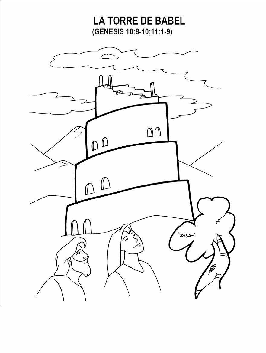 Imagenes Cristianas Para Colorear Dibujos Para Colorear De La Torre