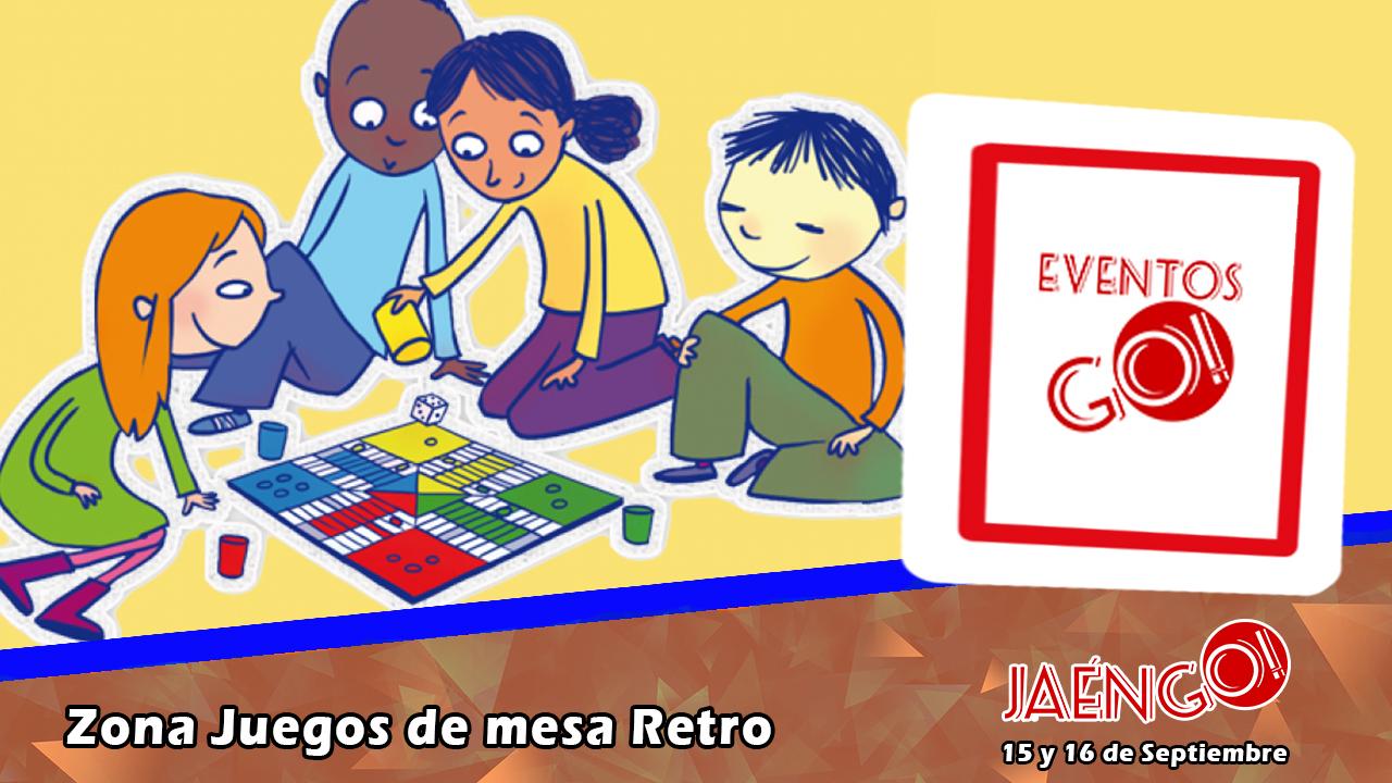 Actividades Zona De Juegos De Mesa Retro Jaengo
