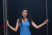 Actress Richa Panai Spicy Pics in Blue Nighty from Rakshaka Bhatudu Telugu Movie  0027.jpg