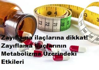 Zayıflama ilaçlarına dikkat! Zayıflama İlaçlarının Metabolizma Üzerindeki Etkileri