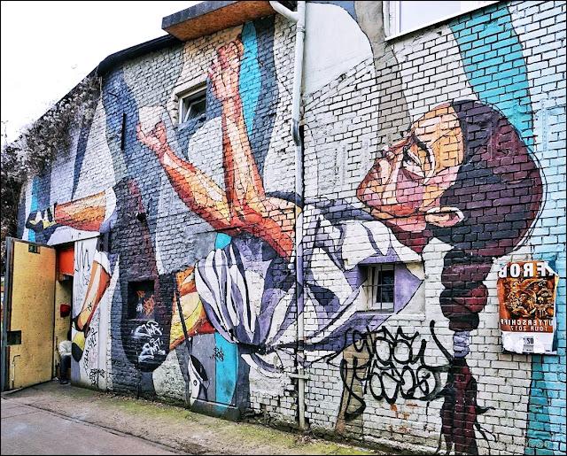 Straßenkunst und Graffiti Berlin, street art, graffiti