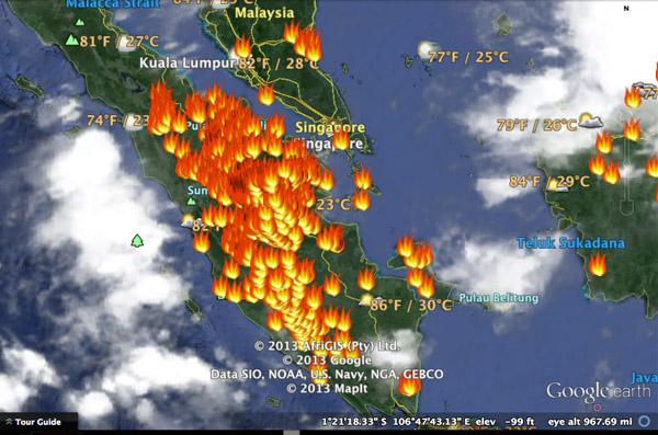 BMKG Aceh Temukan 12 Titik Panas