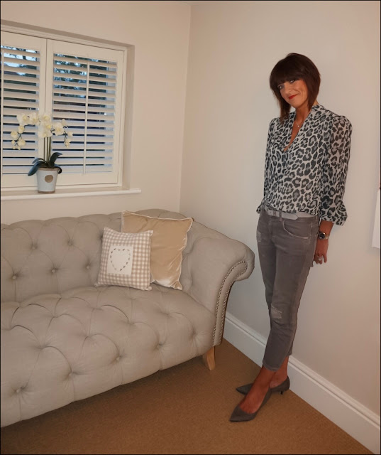 My Midlife Fashion, somerset by alice temperley animal print top