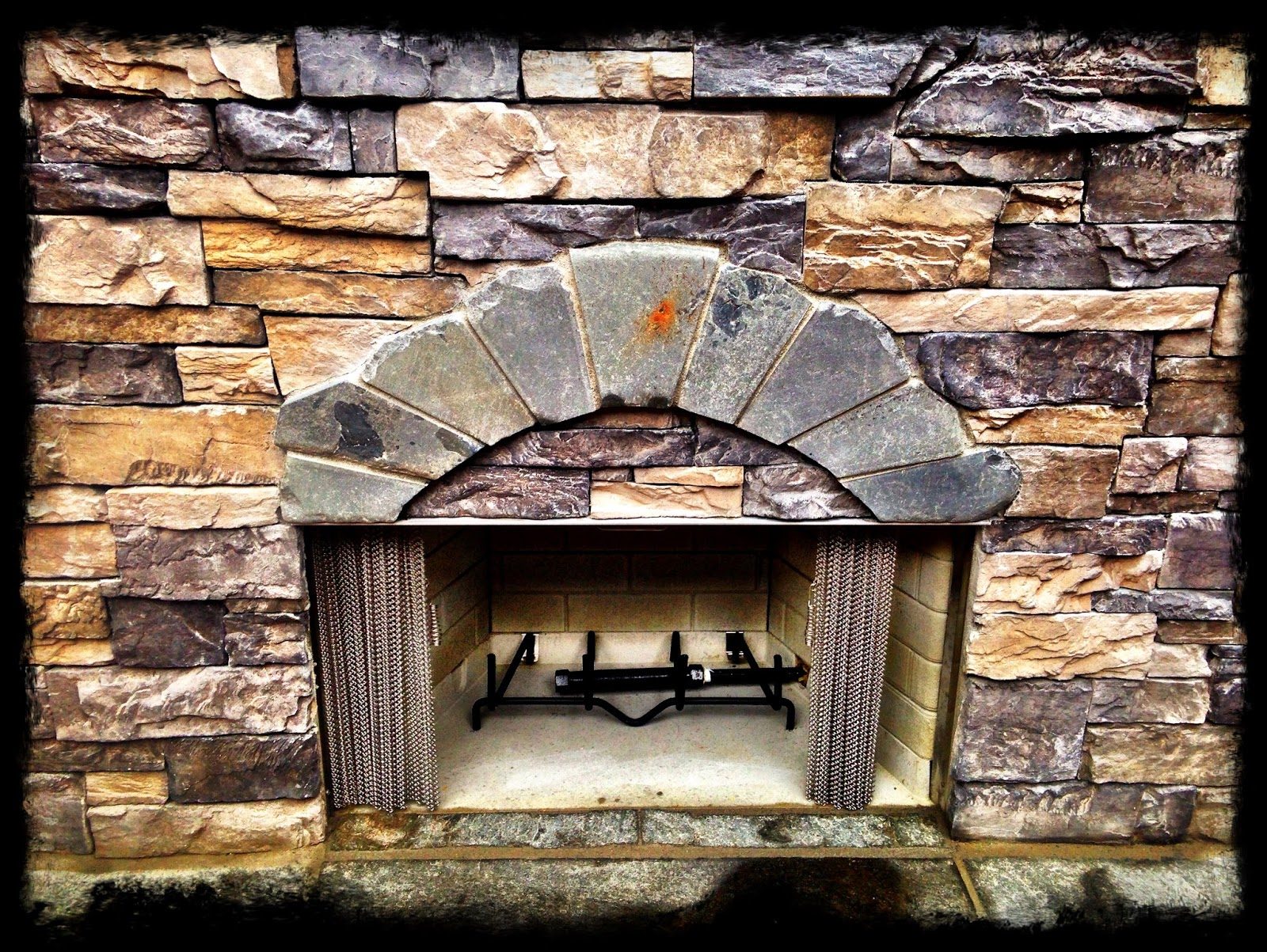 Living Waters Landscaping Asheville: Outdoor Fireplace ...