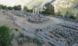 Ruinas de Delfos. Tholos.