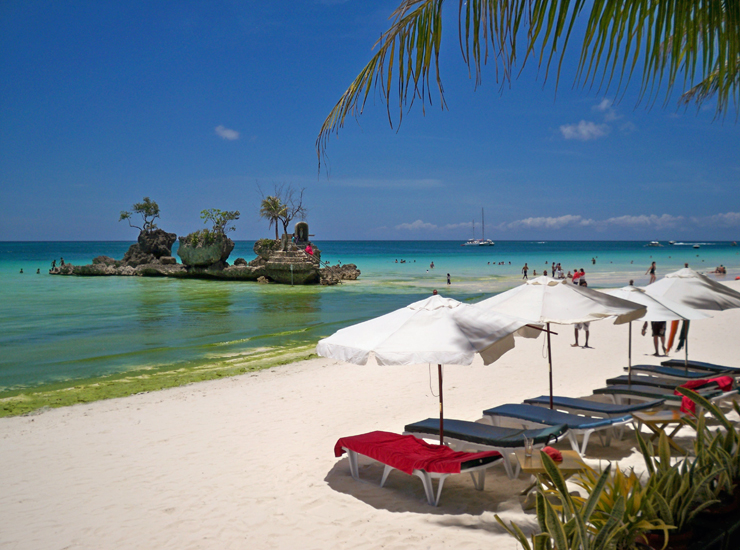Locals Claim S Rock Is Boracay Most Recognizable Landmark And Probably The Photographed Place In