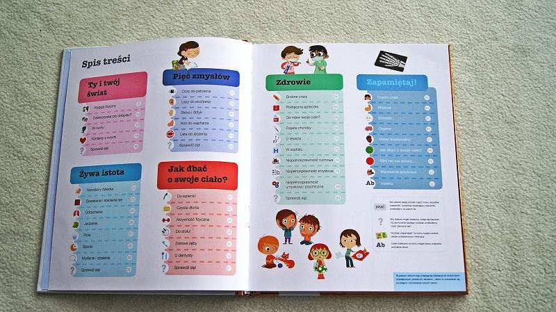 Co jest w dziecięcej encyklopedii o ciele człowieka