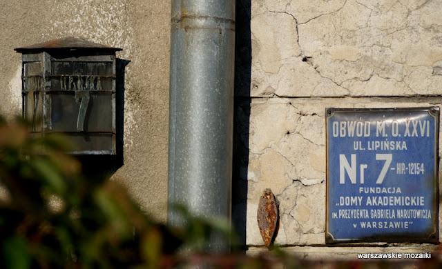 Warszawa Warsaw Stare Bielany Zdobycz Robotnicza wille