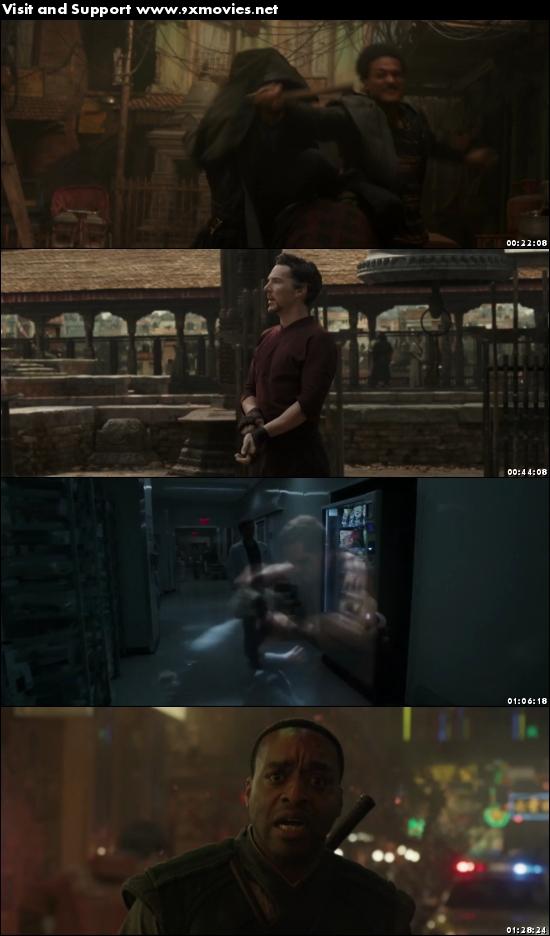 Doctor Strange 2016 English 720p HDRip