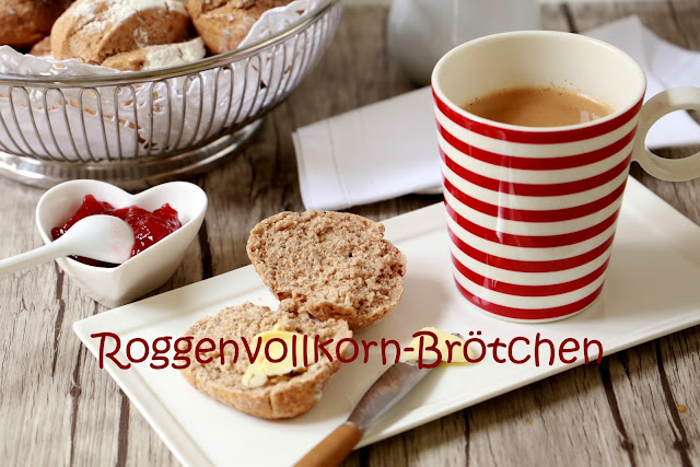 Roggenvollkorn-Brötchen - das Sonntagsfrühstück ist gerettet!