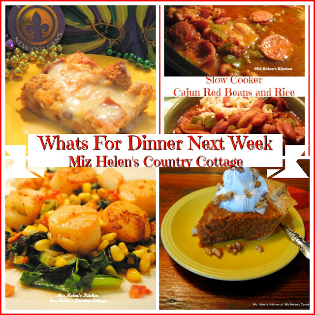Whats For Dinner Next Week,3-3-19 at Miz Helen's Country Cottage