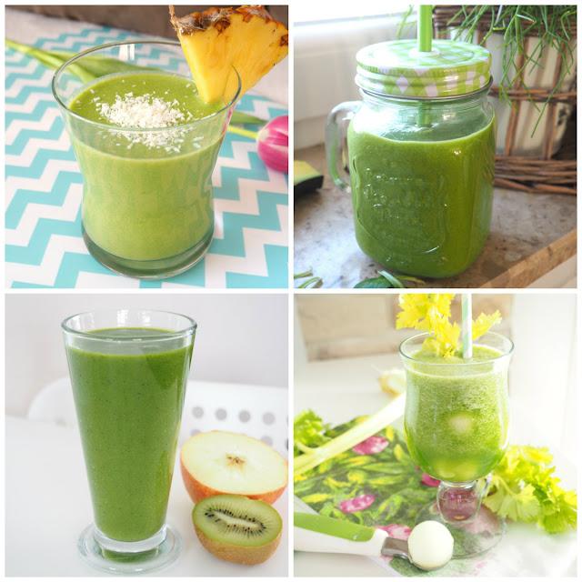 Cztery sposoby na: zielony koktajl