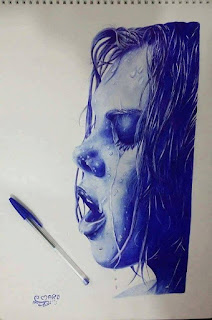 رسم بنت بالجاف
