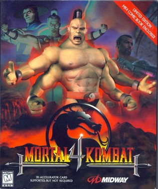 Mortal Kombat 4 (MK4) PC Full [1-Link] [MEGA]