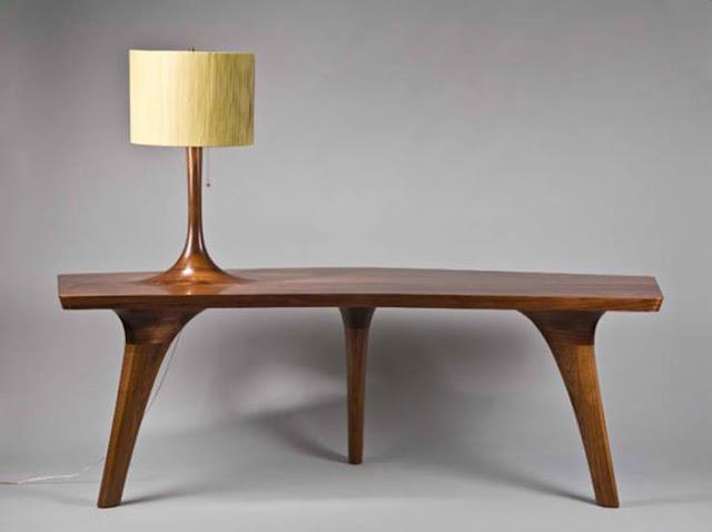 Design Lampu Kayu