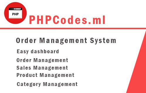 How to create simple order management system