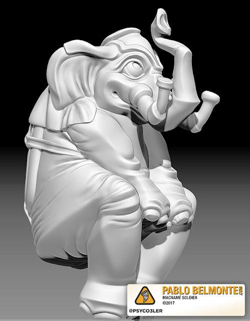 Pablo Belmonte Psyco3ler Elefante