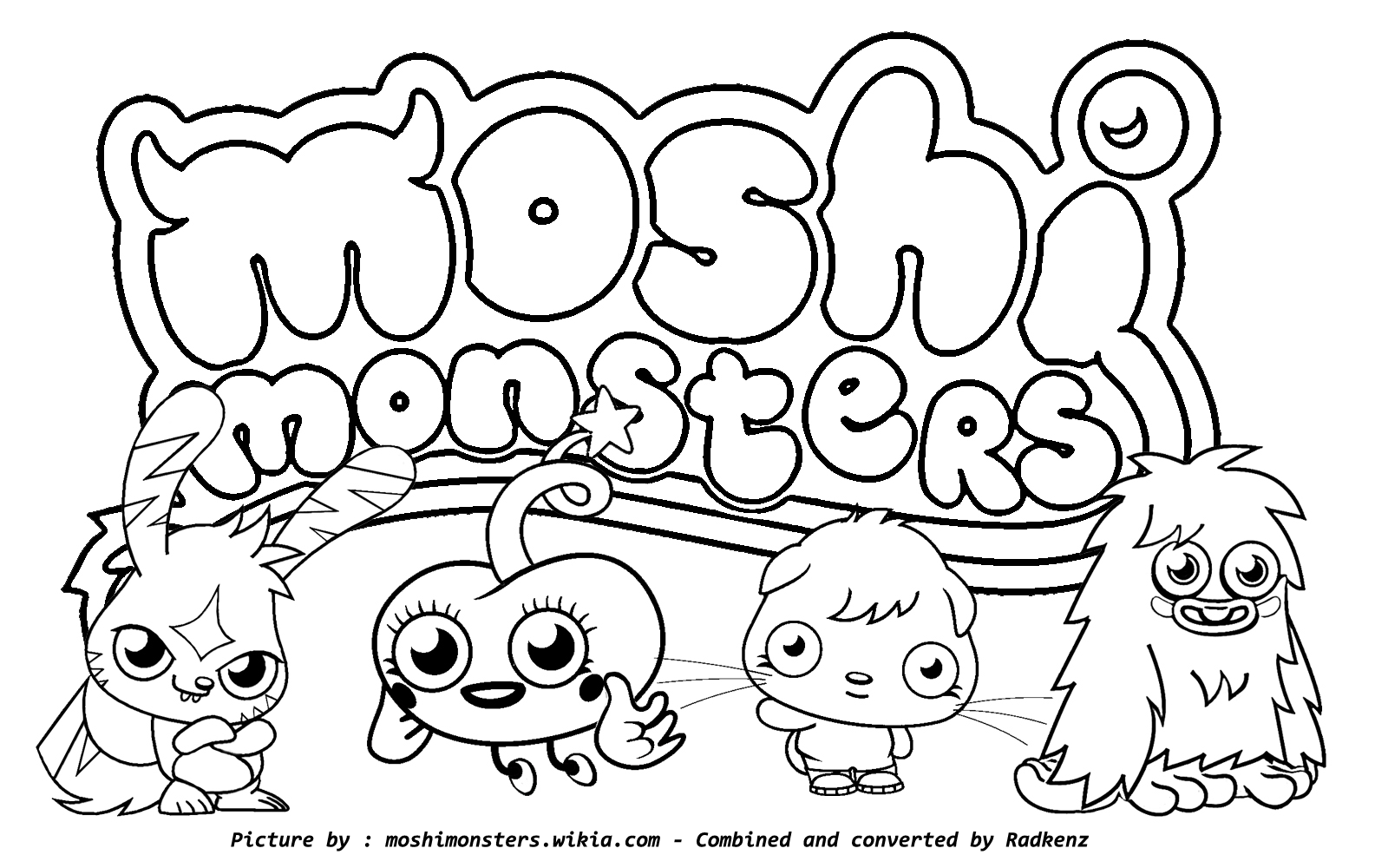 coloring pages sea monster games - photo#33