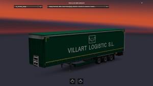Krone Villart trailer