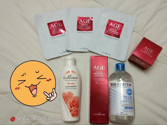 Menang Giveaway Produk Skincare FromNature